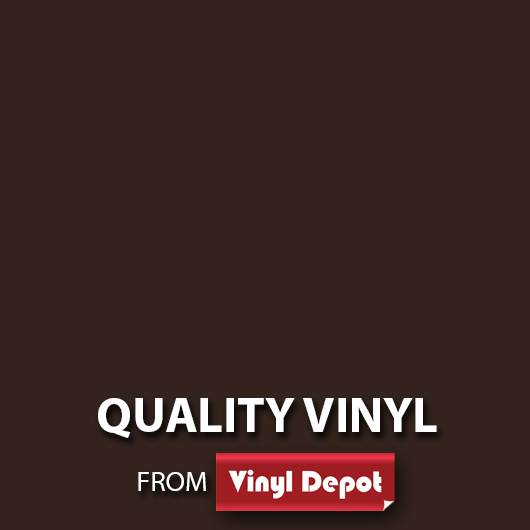 Avery Self-Adhesive Signmaking Vinyl Gloss Brown Nut 610mm/m