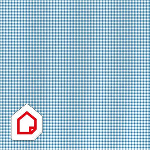 d-c-fix Self-Adhesive Vinyl Gingham Blue 450mm/m