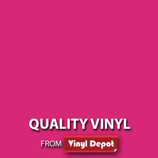 Avery Self-Adhesive Signmaking Vinyl Gloss Pink Fuchsia 610mm/m