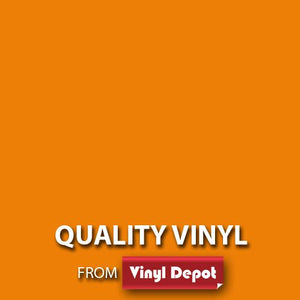 Vinyl Depot Self-Adhesive Vinyl Matt orange 450mm/m