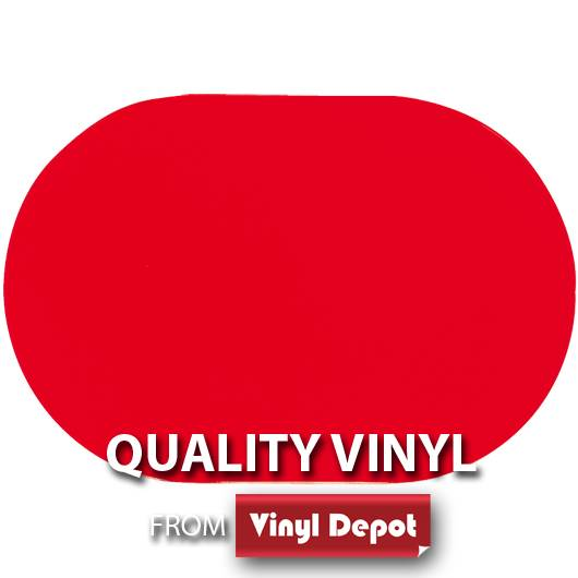 d-c-fix Oval Gloss Red Placemat Set of 2