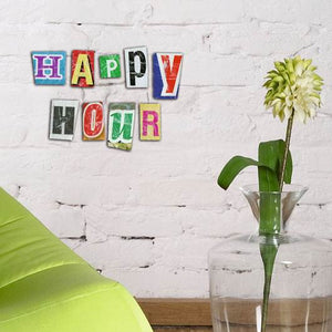 d-c-fix O´Deco Happy Hour Size 3D Foam Shape Wall Stickers