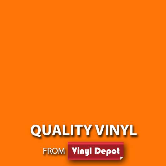 Avery Self-Adhesive Signmaking Vinyl Matt Orange 610mm/m