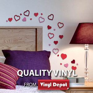 d-c-fix O´Deco Hearts Decobox 3D Foam Wall Stickers Repositionable