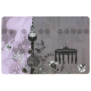 d-c-fix Rectangle Multicolour Berlin Style Placemat Set of 2