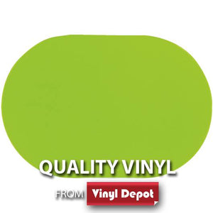 d-c-fix Oval Gloss Apple Green Placemat Set of2