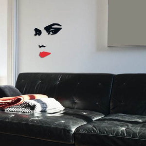 d-c-fix O´Deco Woman 3D Foam Wall Stickers Repositionable