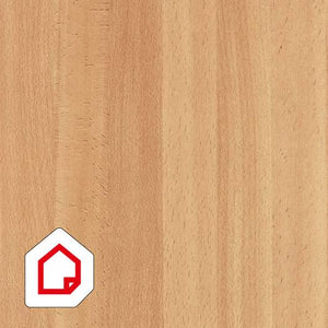 planked medium beech wood self adhesive vinyl