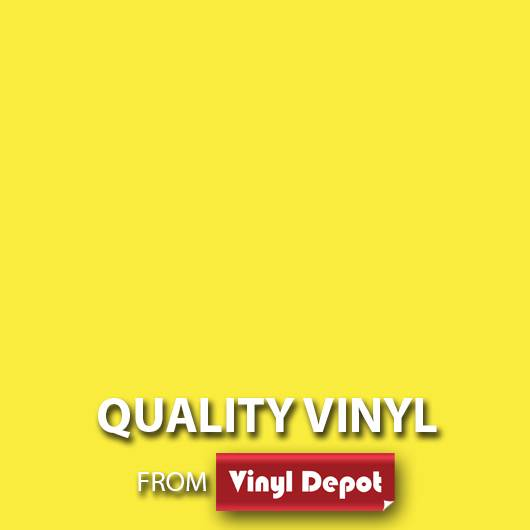 Avery Self-Adhesive Signmaking Vinyl Gloss Lemon Yellow 610mm/m