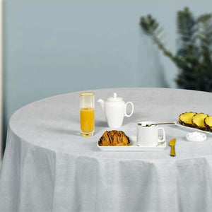 d-c-fix Fiona White Fleece Table Cover 1.1x1.4m