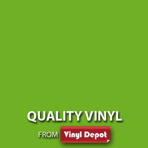 Vinyl Depot Self-Adhesive Matt Lemon Green 450mm/m