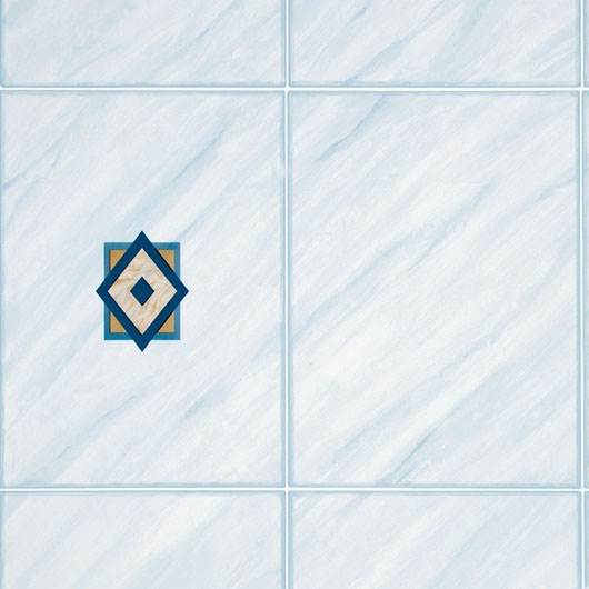 d-c-fix Self-Adhesive Vinyl Tile Rhombus Blue 675mm/m