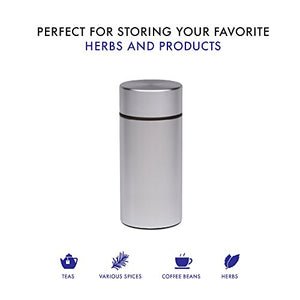 Airtight Smell Proof Herb Container by SimpleChoice