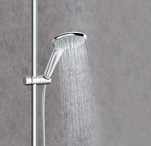 Load image into Gallery viewer, GROHE 26128001 Euphoria 2.5 Gpm Shower System with Thermostat for Wall Mount, Starlight Chrome