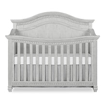Load image into Gallery viewer, Evolur Madison 5 in 1 Curved Top Convertible Crib, Antique Grey Mist