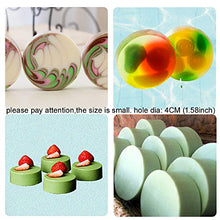 Load image into Gallery viewer, BAKER DEPOT 15 Holes Cylinder Silicone Mold For Handmade soap jelly Pudding Cake Baking Tools Biscuit Cookie Molds Hole Dia: 1.58inch Set of 2