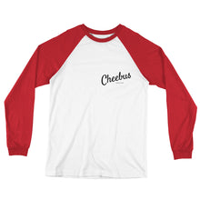 Load image into Gallery viewer, Cheebus Long Sleeve Baseball T-Shirt