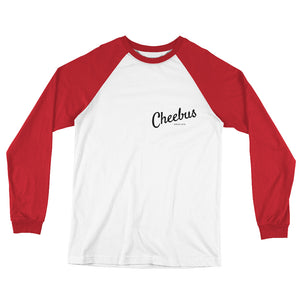 Cheebus Long Sleeve Baseball T-Shirt