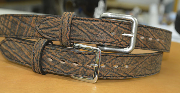 Elephant hide Belt - armourbelts.com