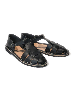 Steve Mono - Artisanal mens leather sandals