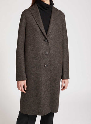 Overcoat double faced wool
