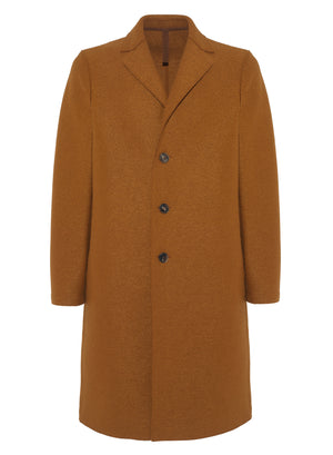 Overcoat pressed wool