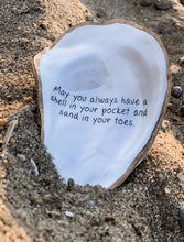 Load image into Gallery viewer, Customized original gift oyster shell trinket dish
