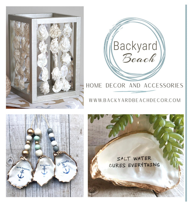 Backyard Beach Oyster Shell Home Decor and Accessories Gift Card