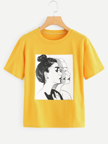 WOMEN ON THE RISE LADIES TEE