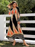 Ladies Fun Tribal Print Dress