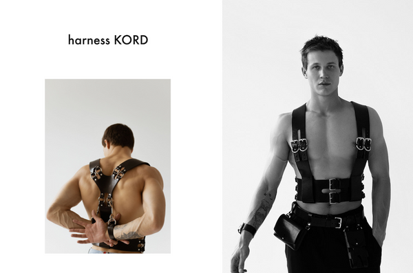 anoeses leather men harness