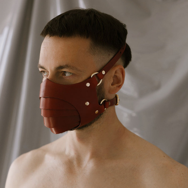 "Mask ""Segmented"" Red"