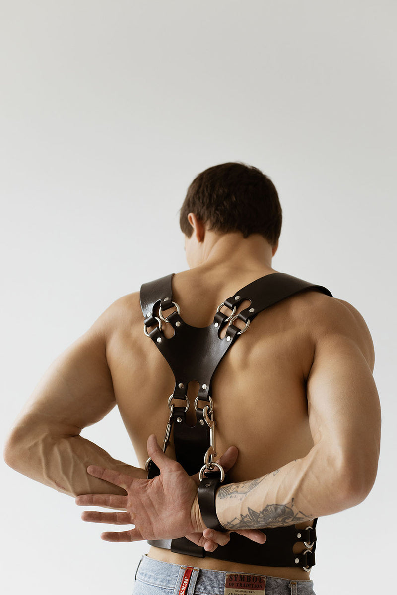 anoeses mens bdsm harness