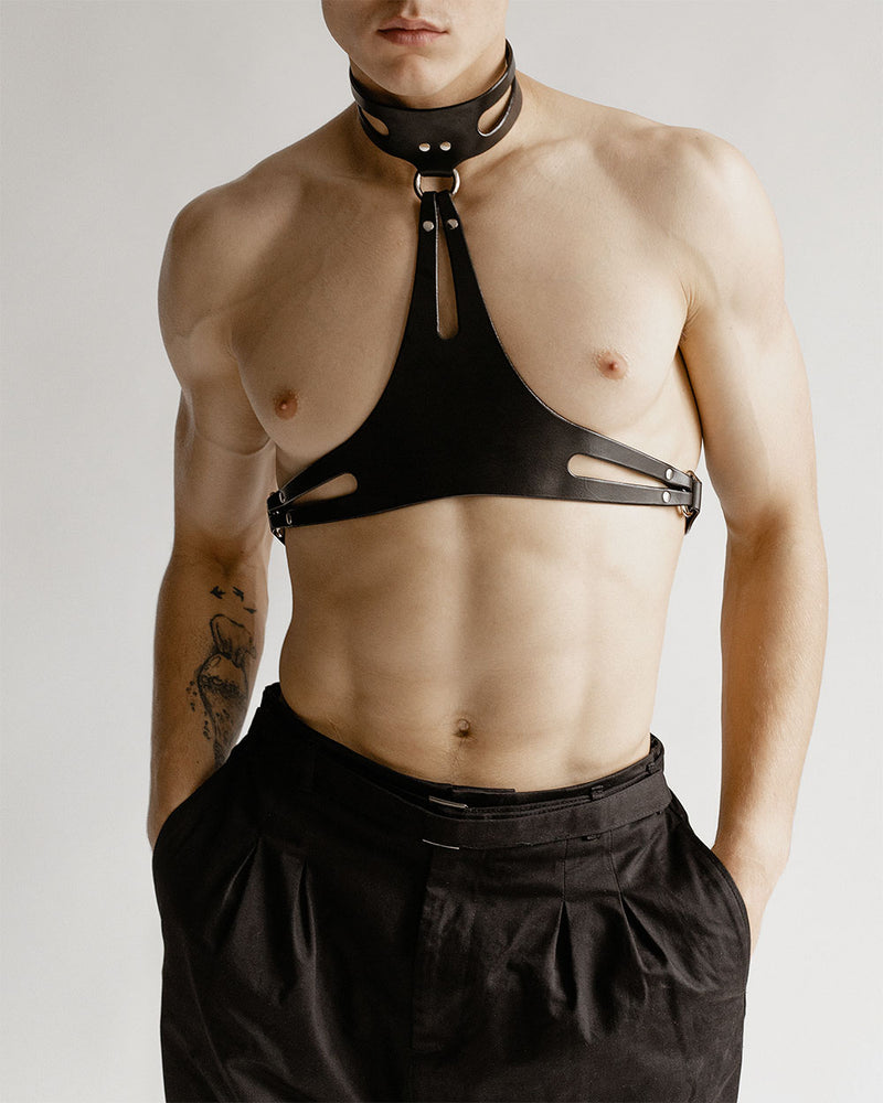 Anoeses black harness for men