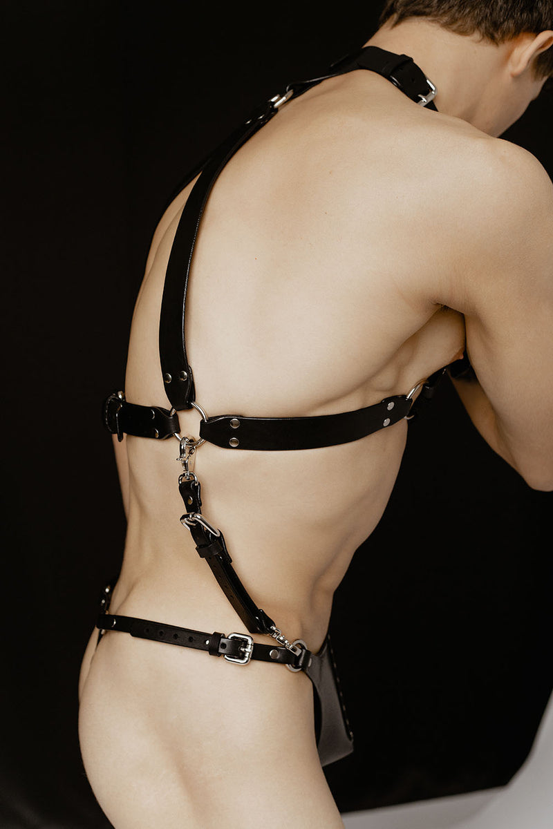 Anoeses men harness BDSM Gay harness