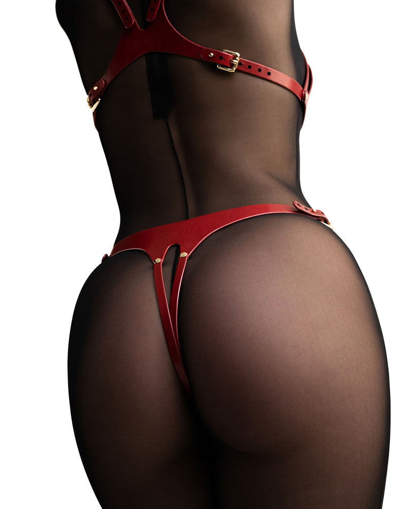 "Set ""Elida"" Red"