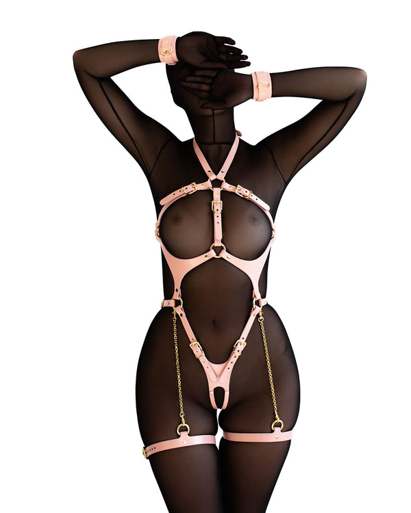 "Harness ""Ora"" Pink"