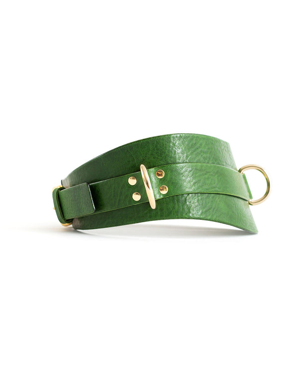 "Belt ""URANIA"" Green"