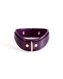 purple choker