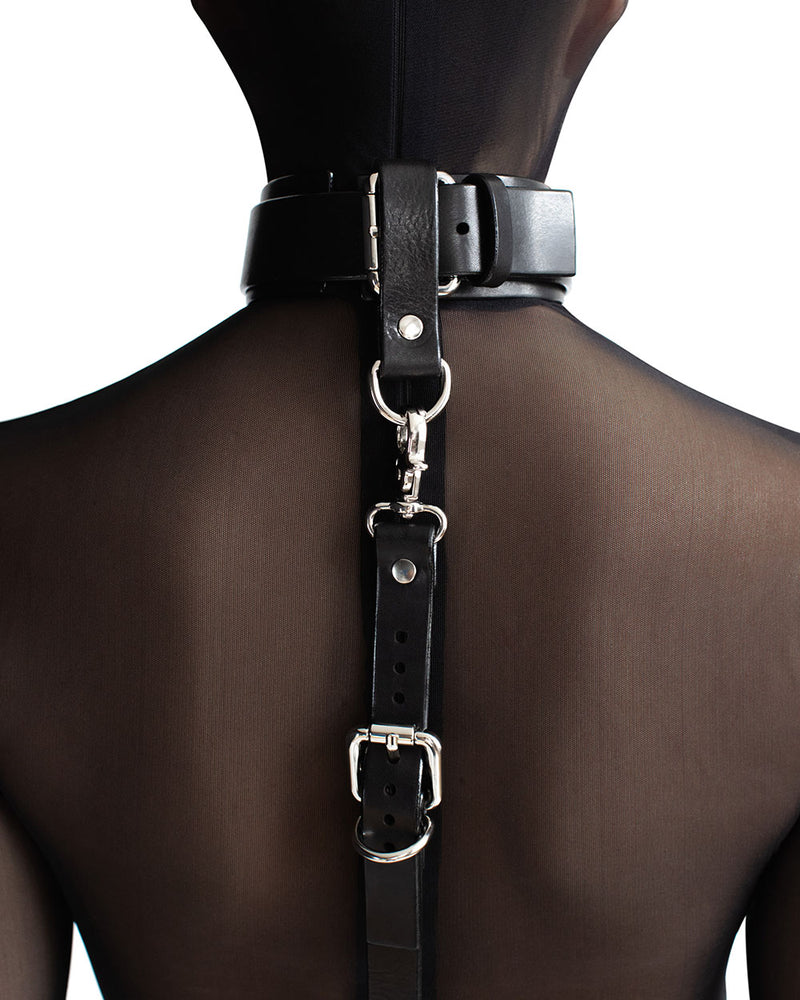 "Collar ""UNO"" Black"