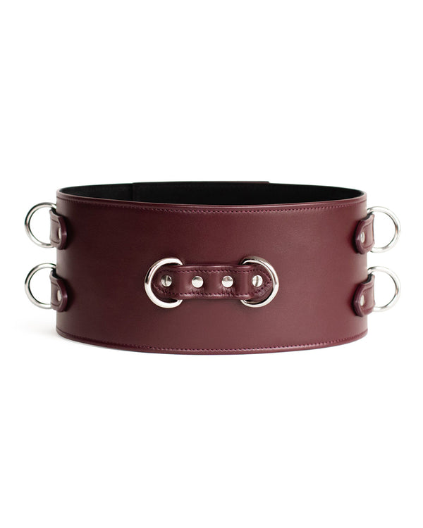 "Belt ""Dita"" Burgundy"