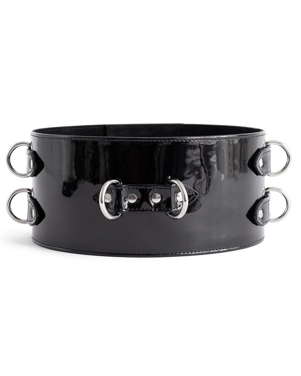 "Belt ""Dita"" Black Patent"