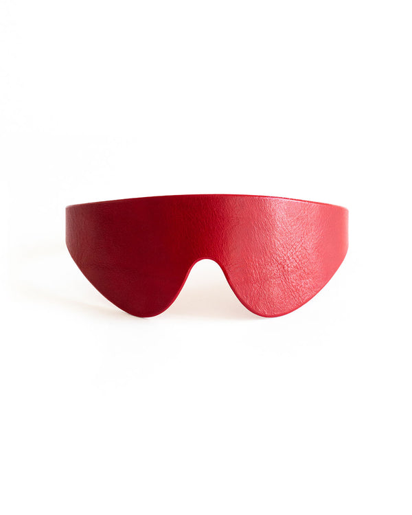 "Blindfold Mask ""Urania & Uno & Cobra"" Red"