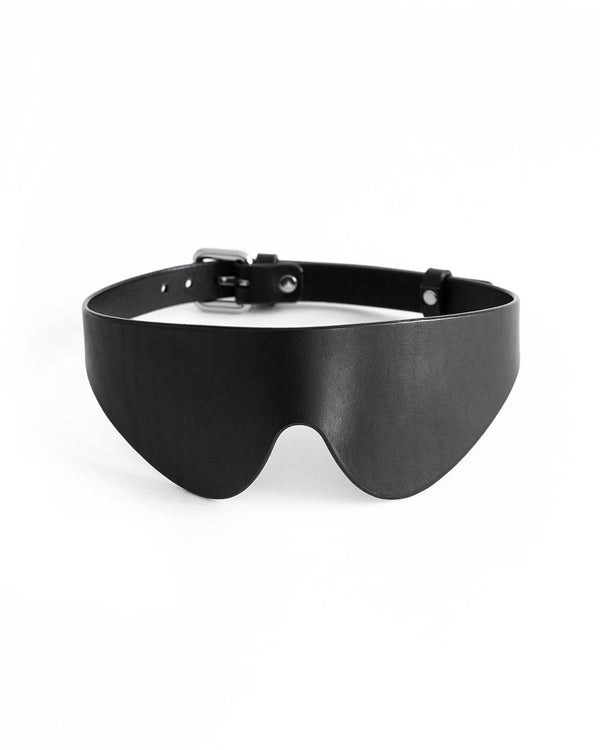 anoeses black blindfold leather mask