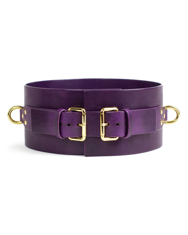 "Wide Belt ""UNO"" Violet"