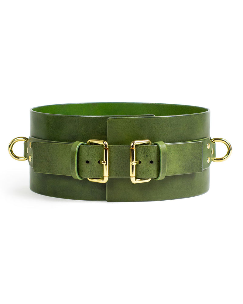 "Wide Belt ""UNO"" Green"