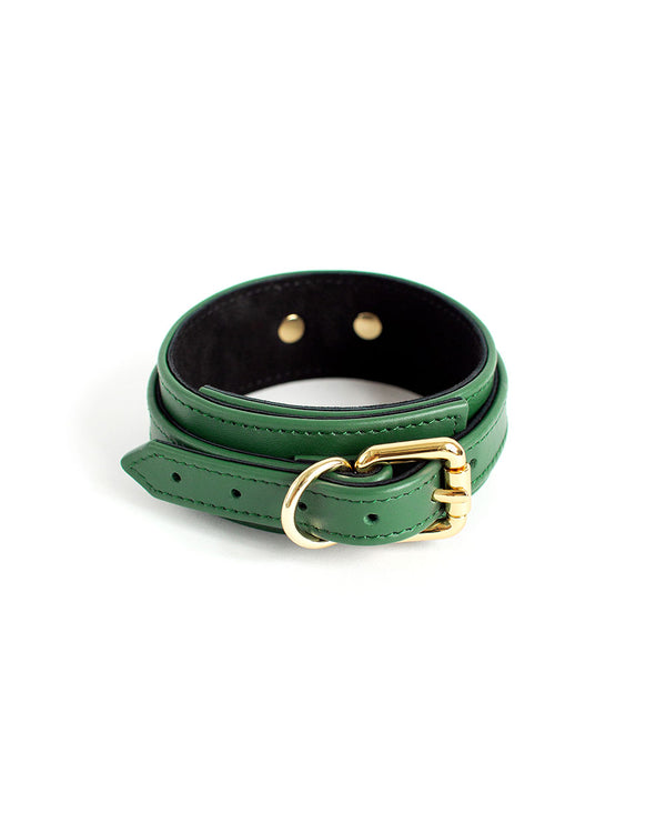 "Collar ""Dita"" Emerald"