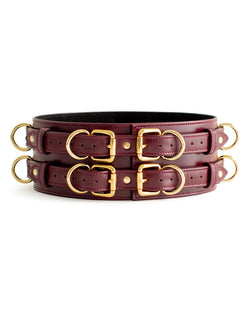 "Belt ""Aura"" Burgundy"