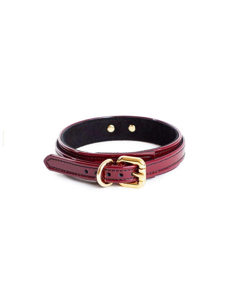 a small leather collar by anoeses