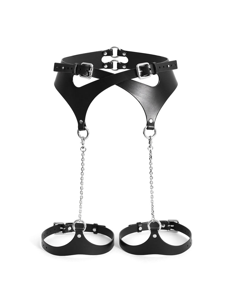 anoeses bdsm leather harness